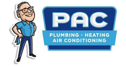 PAC Plumbing, Heating, Air Conditioning logo